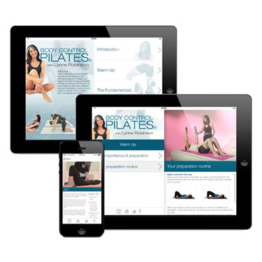Body Control Pilates with Lynne Robinson App