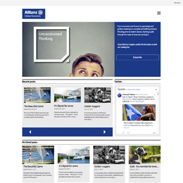 Allianz GI - Unconstrained Thinking