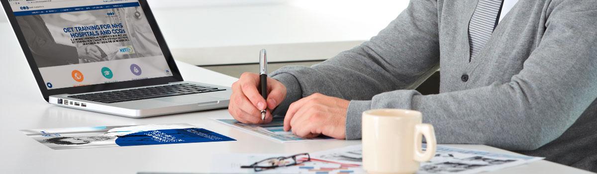 Specialist Language Courses website design