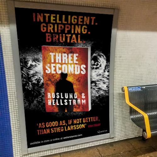 Three Seconds 4 Sheet Underground poster